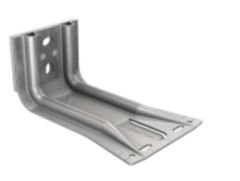 SPIDI max TS6 / Wall bracket with Thermostop, stainless steel
