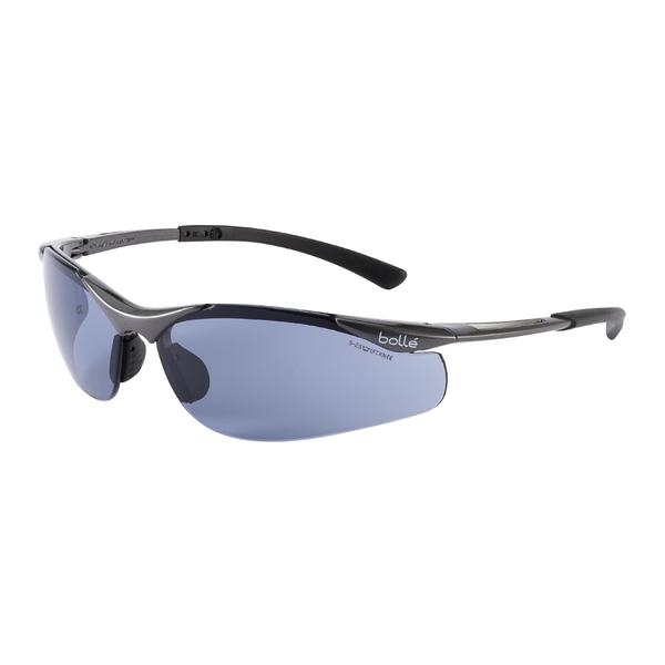 Bolle CONTPSF Contour Safety Glasses Smoke Eye Protection Platinum Coated Work