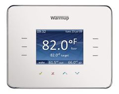3iE Energy-Monitoring Thermostat / cloud white