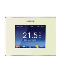4iE Smart Wifi Thermostat / bright porcelain