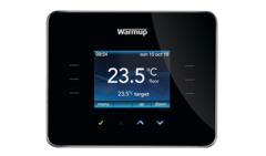 3iE Energy-Monitoring Thermostat / piano black