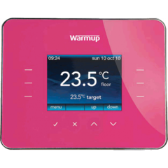 3iE Energy-Monitoring Thermostat / deep pink