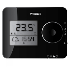 Tempo Programmable Thermostat / black