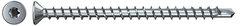 FPF ST / Full thread screw Power-Full CSK head, TX, blue zinc-plated, full thread 10 mm