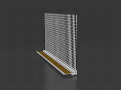 PRT 379 / Window profile for insulation with collar with mesh 6/9 mm