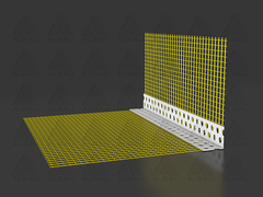 EC / Corner bead with mesh