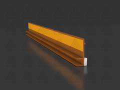 PW (B) / Triming window reveal profile, brown
